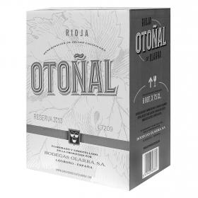Caja de vino D.O. Rioja tinto reserva Otoñal pack de 6 botellas de 75 cl.