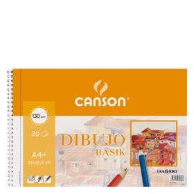 Cuaderno Dibujo Basik A4+ Micro Liso