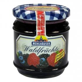 Confitura de frutas del bosque Muhlhauser 225 g.