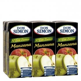 Zumo de manzana con vitamina C