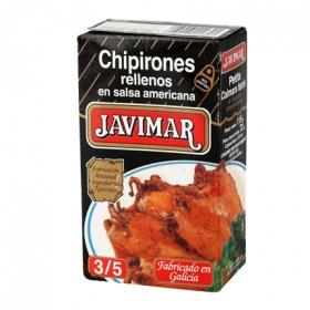 Chipirones rellenos en salsa americana Javimar 72 g.
