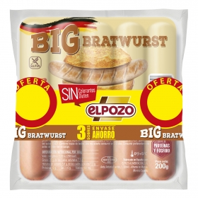 Salchichas BIG bratwurst