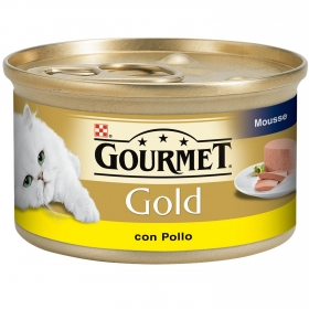 Comida para gatos Mousse con Pollo