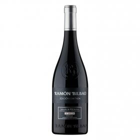 Vino D.O. Rioja tinto crianza Edición limitada Ramón Bilbao 75 cl.