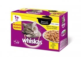 12 Pack Whiskas Casserole +1 Aves