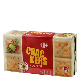 Crackers Carrefour 250 g.