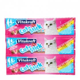 Snack para Gato Vitakraft Stick Salmón