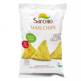 Nachos ecológicos Sarchio sin gluten 75 g.