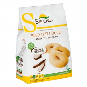 Galletas de coco ecológicas Sarchio 250 g.