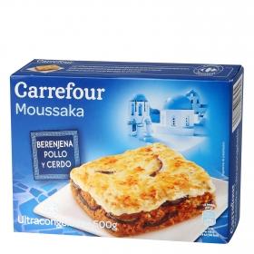 Mussaka Carrefour 500 g.