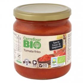 Tomate frito ecológico Carrefour Bio sin gluten tarro 340 g.