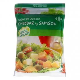 Mezcla de quesos 'especial ensalada' Carrefour 200 g.