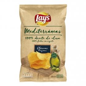 Patatas fritas artesanas en aceite de oliva Lay's sin gluten 160 g.