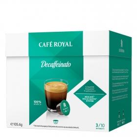Café descafeinado compatible con Dolce Gusto