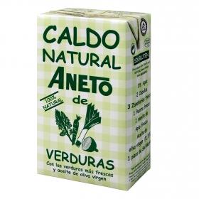 Caldo natural de verduras Aneto sin gluten 1 l.