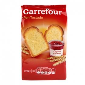 Pan tostado Carrefour 270 g.
