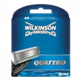Recambio para maquinilla de afeitar de cuatro hojas Quattro