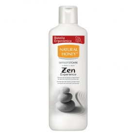 Gel de ducha al té blanco Zen Natural Honey 650 ml.