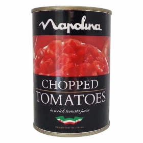 Tomate troceado Napolina 400 g.