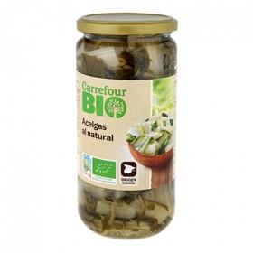 Acelgas al natural primera ecológica Carrefour Bio 660 g.