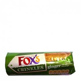 Galletas crinkle crunch ginger