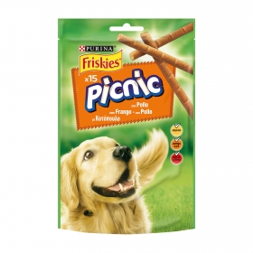 Purina Friskies Snacks para Perros Picnic Pollo 126g