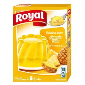 Gelatina sabor piña Royal 170 g.