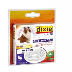 Collar insecticida para perros blanco