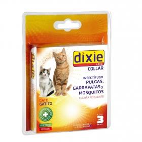 Collar Repelente de Parásitos para Gato y Cachorro Dixie