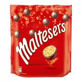 Bolitas de galleta cubierta de chocolate con leche Maltesers 175 g.