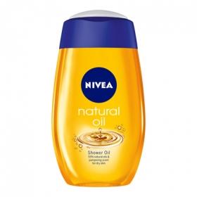 Gel de ducha Natural Oil para piel seca Nivea 200 ml.