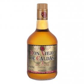 Ron Viejo de Caldas añejo 3 años 70 cl.
