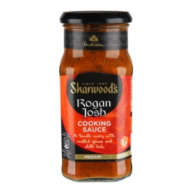 Salsa rogan josh Sharwood's tarro 420 g.