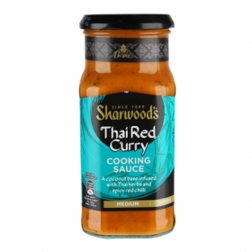 Salsa curry Sharwood's tarro 415 g.