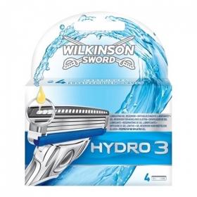 Recambio para maquinilla de afeitar Hydro 3 Wilkinson 3 ud.