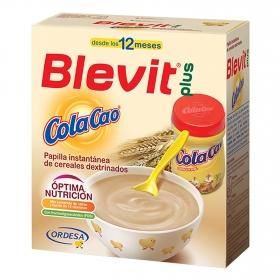 Papilla con cereales y ColaCao