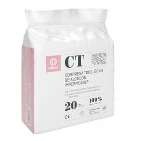 Compresa tocológica algodón Maternity 20 ud.