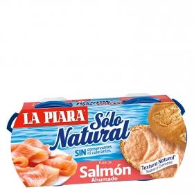 Paté de salmón ahumado Sólo Natural La Piara 168 g.