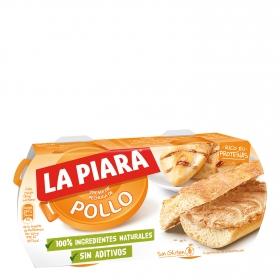 Paté de pollo La Piara 168 g.