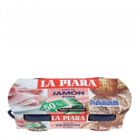 Paté de jamón york -50 % grasa