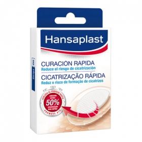 Apósitos con Gel Activo para rozaduras y cortes medianos Hansaplast 8 ud.