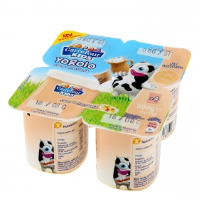 Yogur sabor macedonia