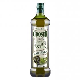 Aceite de oliva virgen extra hojiblanca Coosur 1 l.