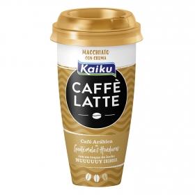 Café latte con crema macchiato Kaiku 230 ml.