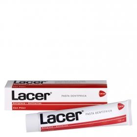 Dentífrico con flúor Lacer 125 ml.