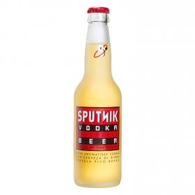 Cerveza Sputnik sabor a vodka botella 33 cl.