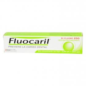 Dentífrico sabor menta Bi-Fluoré 250 Fluocaril 125 ml.