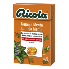 Caramelo Naranja Menta sin azúcares