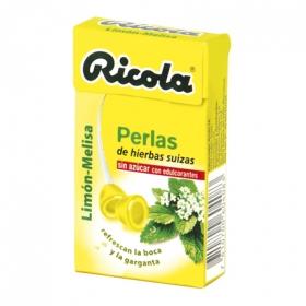 Perlas Limón-Melisa sin azúcares