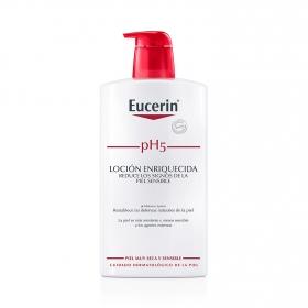 Loción Enriquecida hidratante corporal pH5 para piel sensible y seca